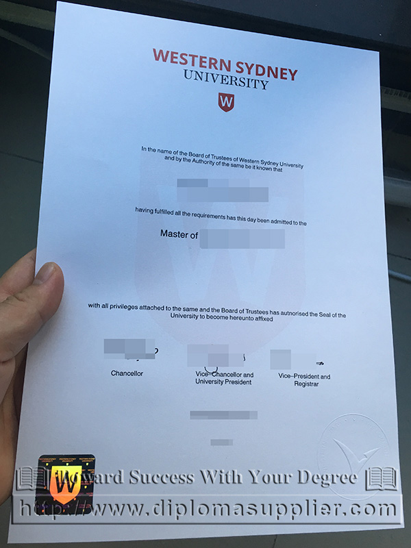 western sydney university degree certificate fake degree fake diploma