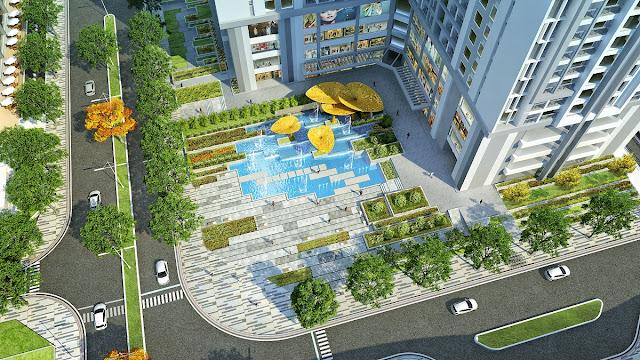 Quảng trường nước Goldmark City