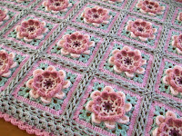 Moon Blossom Blanket