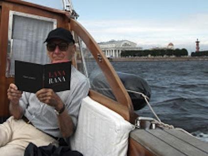 Lana en San Petersburgo, julio 2010