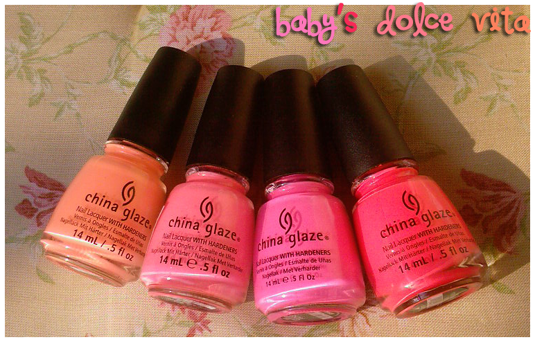 China Glaze Flip Flop Fantasy Vs Pool Party Baby's Dolc...