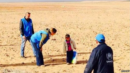 Marwan, bocah Suriah yang lintasi gurun seorang diri