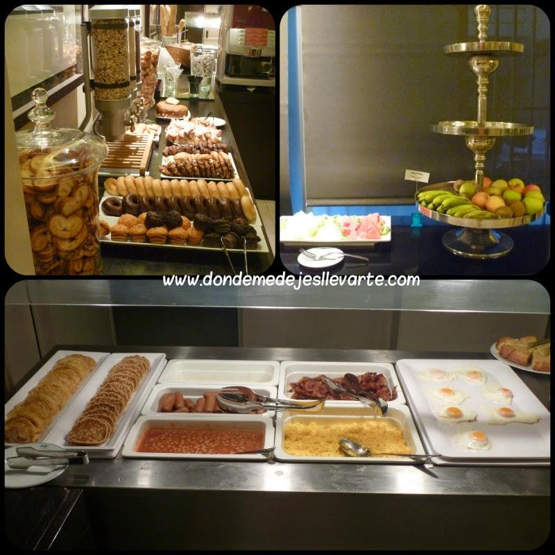 Desayuno del Hotel Taburiente - Santa Cruz de Tenerife