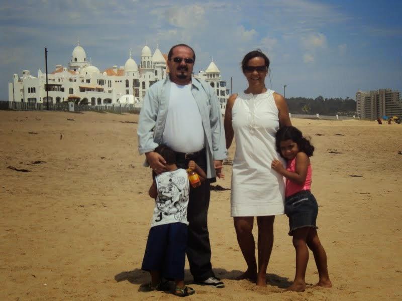 Marcando território com a família