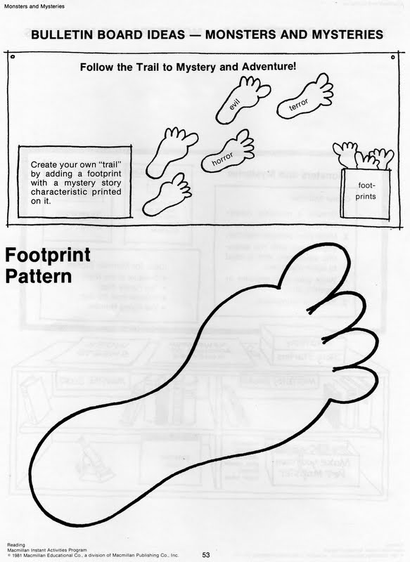 Footprints Follow Jesus Coloring
