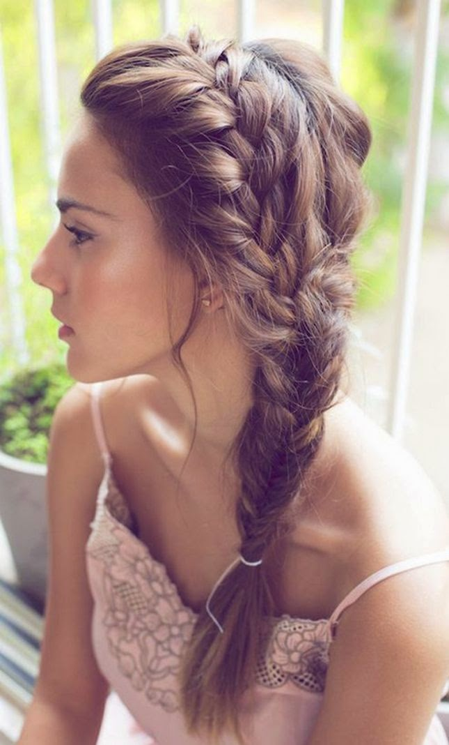 Side french braid for beginners video tutorial gallery ccuart Images