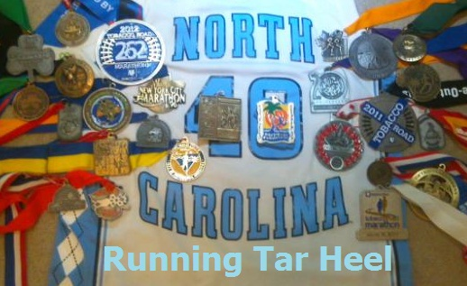 Running Tar Heel