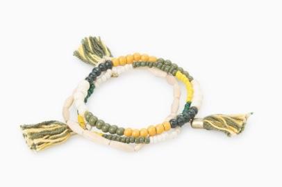 Mango Tassel Bracelet