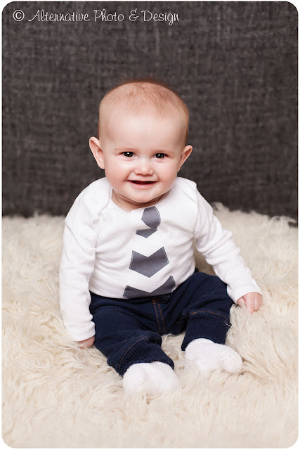Handsome {R} is 6 Months |Baby Photographer| Janesville Wisconsin|