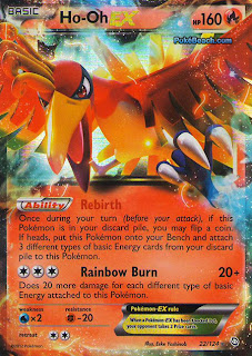 Ho-Oh EX Dragons Exalted Pokemon Card
