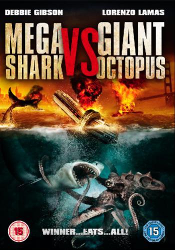 the man cave mega shark vs giant octopus