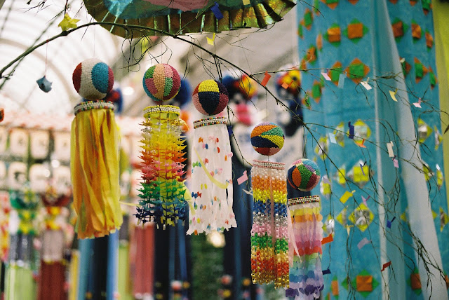 small and accurate tanabata decorations