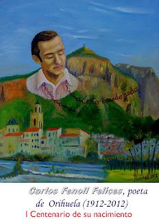 Homenaje del pintor Palmeral
