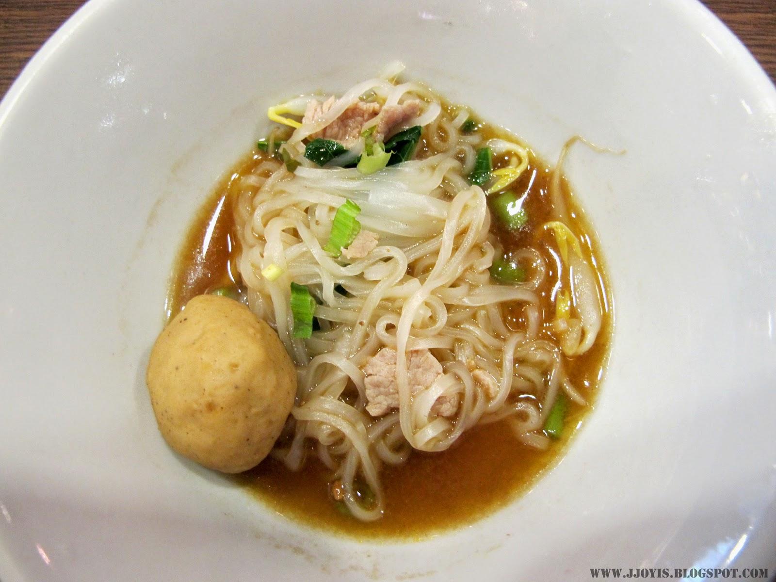 thai boat noodlesoup