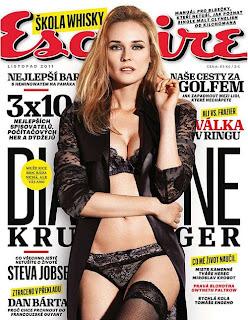 Diane Kruger Czech Esquire Pics, Diane Kruger Covers Shoots
