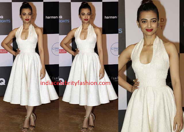 Radhika Apte in Swapnil Shinde White Dress