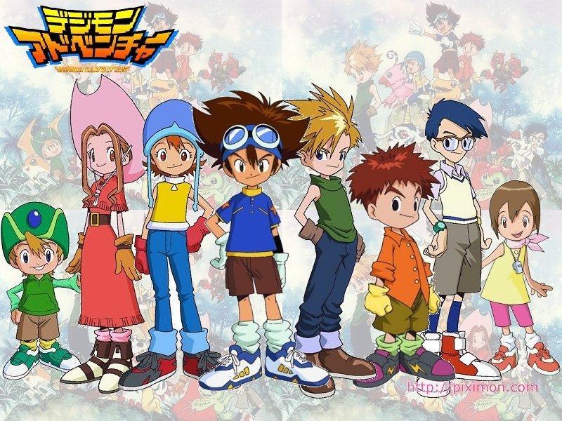 El Rincón Perdido: Reseña Anime: Digimon Adventure