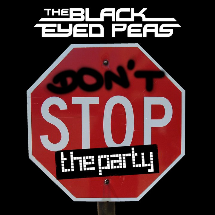The TMJ Charts: BEP: 'Don't Stop The Party' Single Cover ...