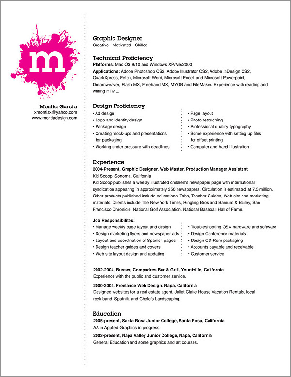 internship format your resume simone jenifer design