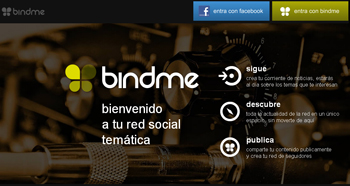 Bindme la nueva red social - www.dominioblogger.com