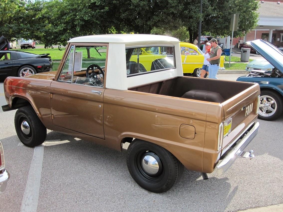 FAB WHEELS DIGEST (F.W.D.): Ford 1st Generation Bronco U13 ...