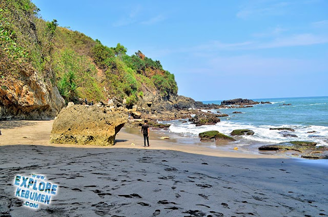 Pantai Grojogan Kebumen