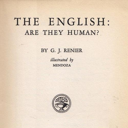 english are they human