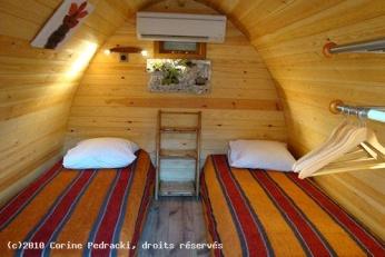 Casa di legno confortevole il pod una casa di legno 100 for Comprare una casa di legno