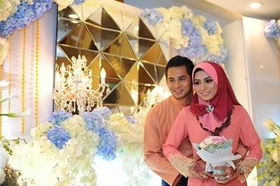 Gambar majlis resepsi wedding Fizo Omar & Mawar
