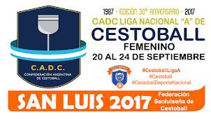CADC Liga Nacional A de Cestoball Femenino