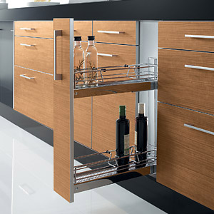 Mobiliario de cocina equipamiento interior for Mueble botellero ikea