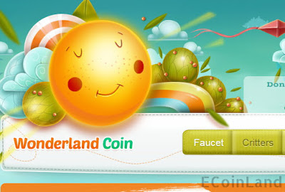 get paid free bitcoin playing the wonderland coin critters faucet game