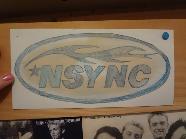 drawing of nsync logo