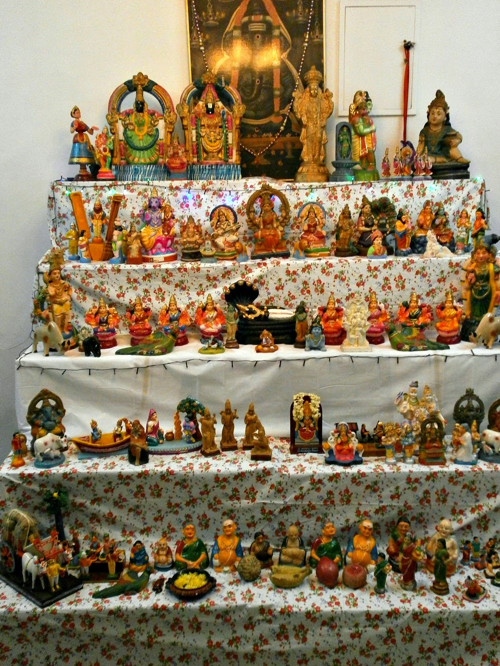 Navarathri Golu Decoration