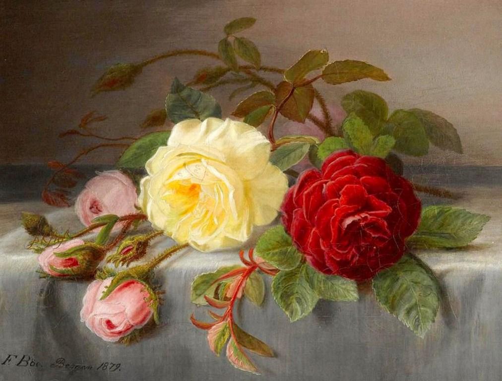 Cuadro de flores cuadros y arte pinterest - Cuadros de pintura ...