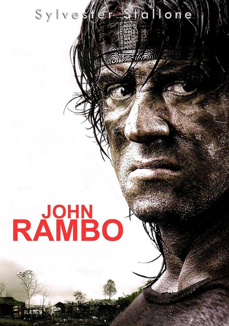 John rambo movie poster photographer
