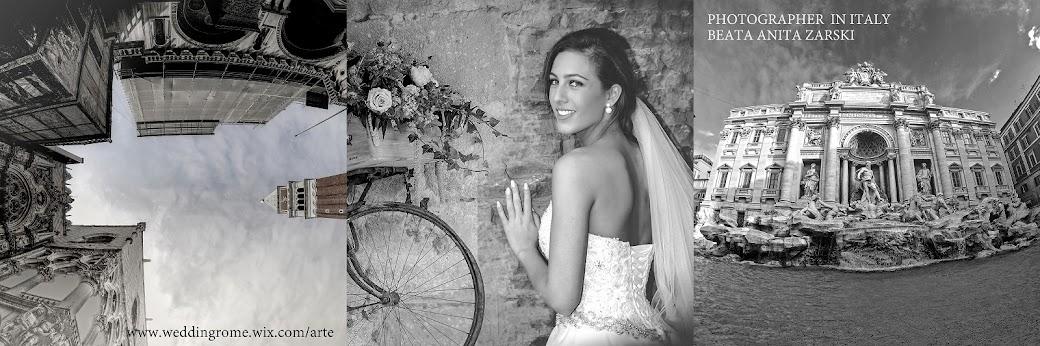 Ślub w Rzymie. Polski fotograf w Rzymie - Beata Żarski Zaremba.