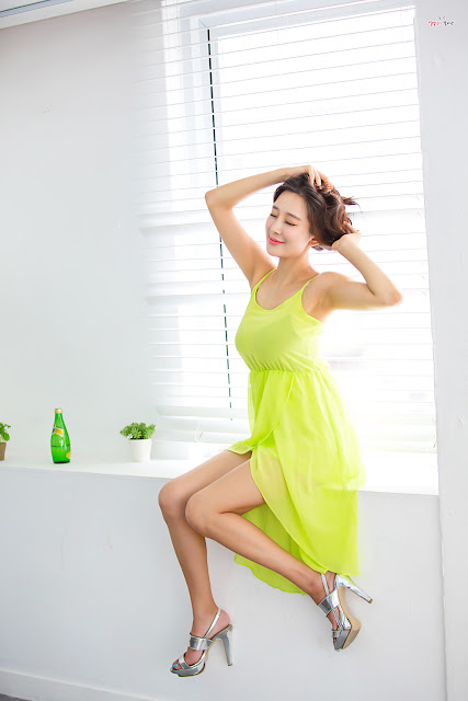 2 Han Ji Oh - Indoor Shoot - very cute asian girl-girlcute4u.blogspot.com
