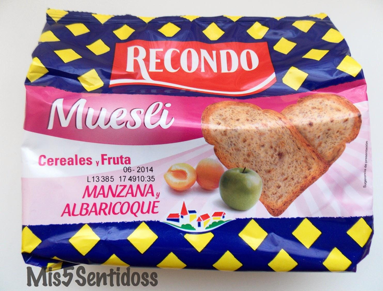 Muestras premium abril 2014 Pan tostado recondo
