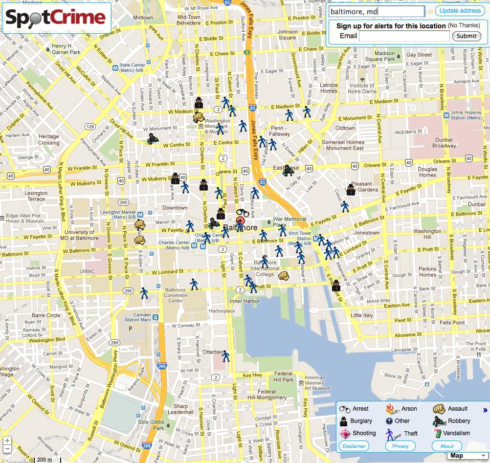 Milwaukees Crime Maps Spotcrime The Publics Crime Map