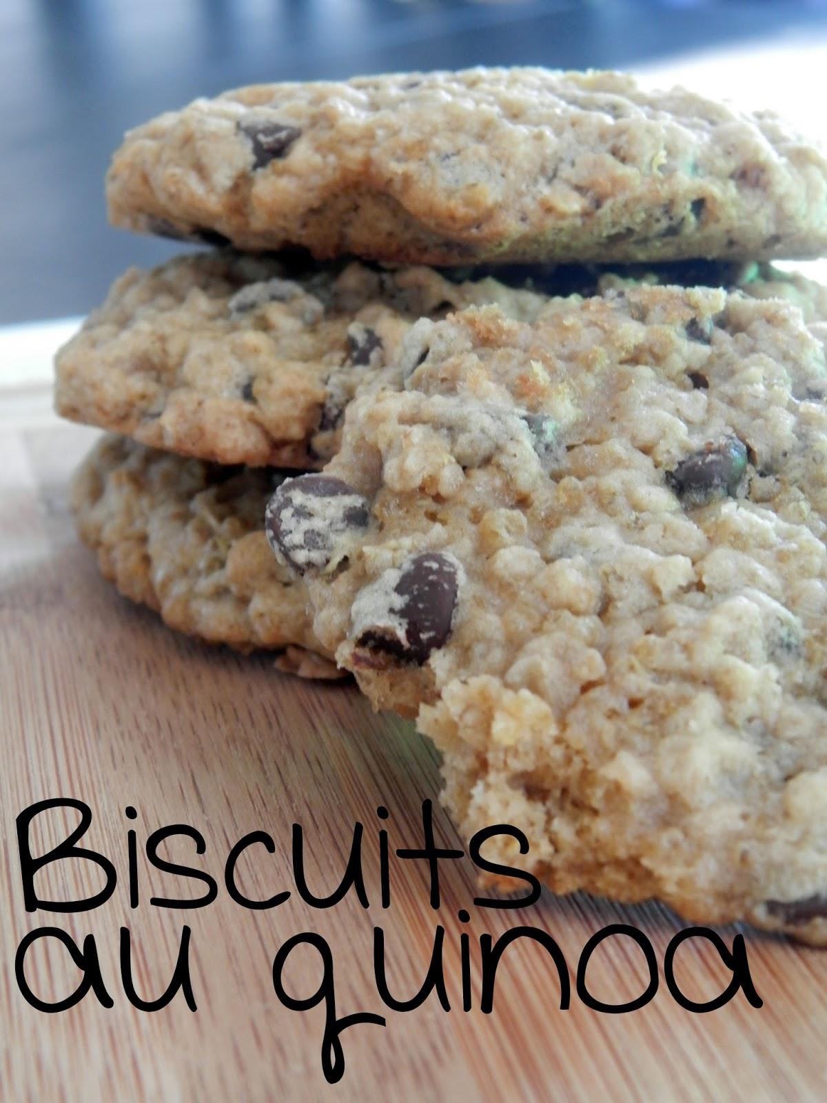 ces temps ci en cuisine biscuits avoine et quinoa aux brisures de chocolat. Black Bedroom Furniture Sets. Home Design Ideas