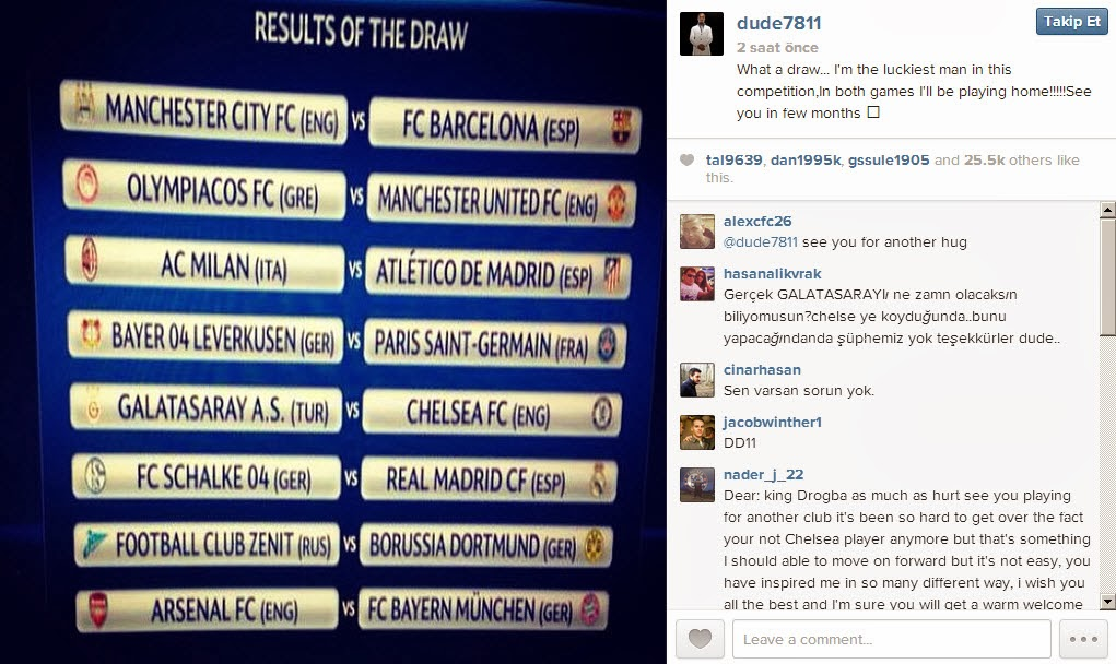 Drogba'dan Chelsea'ye cevap