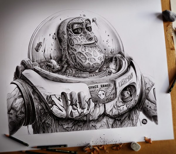 Distroy, por PEZ Artwork, Buzz Lightyear