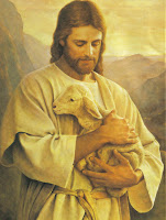 Imagem de Jesus e o cordeiro