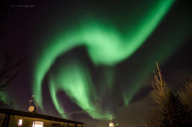 Islandia Zorza Polarna