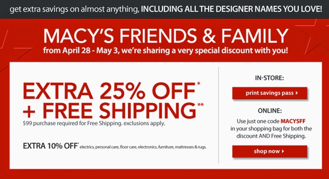 Macy coupons codes