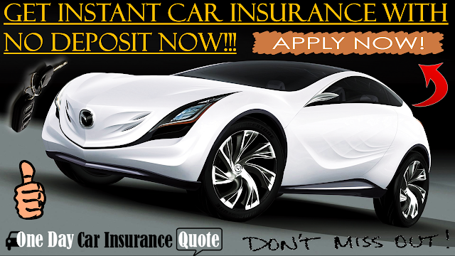 Instant car insurance with no deposit online
