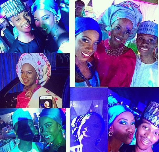 Some photos from the wedding ceremony of Bello El-Rufai, son of Nasir El-Rufai and his new bride, Kamilah. Gen. Buhari was at the wedding.