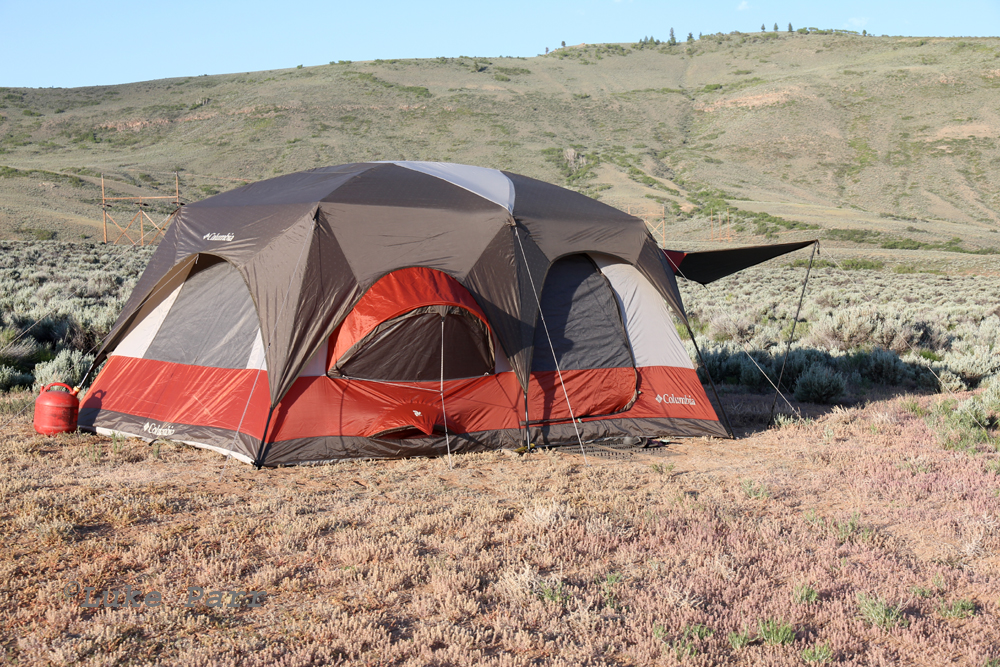 Columbia Cougar Flats II at Blue Mesa Reservoir & Rocky Mountain Adventure: Columbia Cougar Flats II Tent Review
