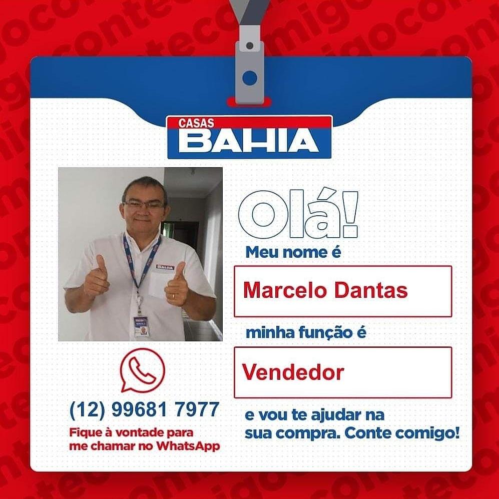 [INFORME PUBLICITÁRIO] Marcelo Dantas Vendedor Casas Bahia.